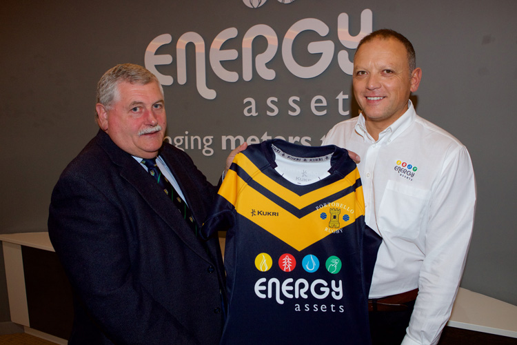 David Sing, COO of Energy Assets, and Barry Sinclair of Portobello RFC
